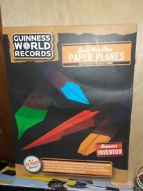 Build your Own - Paper Planes Aeroplane gift set toy game