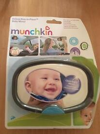 Munchkin Baby mirror for car baby accessory