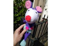 Found cuddly toy in Comely Bank