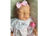 Pretty Little Brand New Reborn Baby Girl Doll
