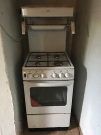 Free gas oven with grill. Collection Salisbury