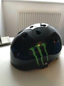 Monster BMX/Skateboarding Helmet - Basically Unused!