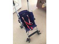 MacClaren buggy stroller union jack navy pushchair