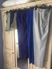 3 Pair Of Tailored Trousers & 3 Pair Of Shorts (Ladies) - PRICE IS FOR ALL