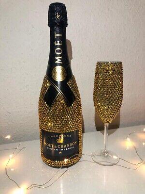 """Moët & Chandon Nectar Impérial"" & Sektglas Geschenkset Champagner @luxbottles_"