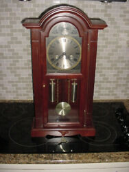 Waltham Tempus Fugit 31-Day Chiming Wall Clock 28 Tall in Great Condition