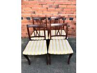 Set of 4 Mid Century Dining Chairs - Belper, Derbyshire