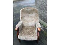 Fireside chairs Parker knoll. £35 each