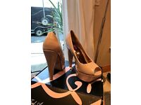 Ladies nude court heels size 6 £20 price reduced £10