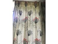 Laura Ashley lined curtains in great condition