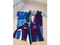 Wet Suits various sizes mens/womens JOB LOT