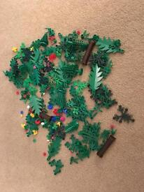 Lego trees plants and flowers joblot