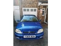 Citroen saxo in blue good condition low mileage 550 OVNO