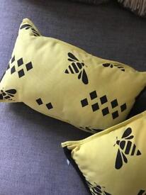 Bee Print Cushions