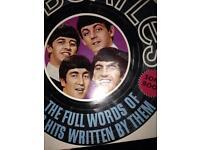 Beatles song book