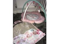 Baby girl playmat from mothercare