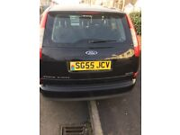 Black Ford Focus c max petrol 93000 miles 2005