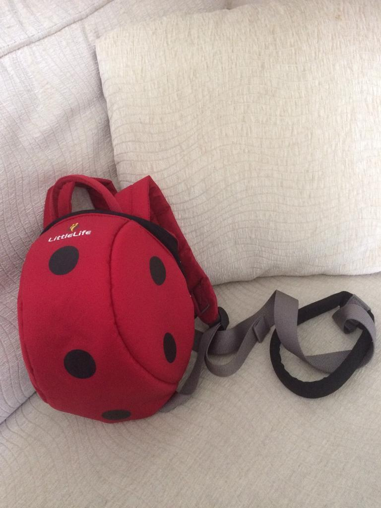 Toddler bag and reins