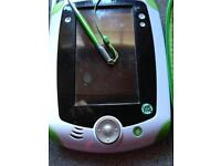 Leapad and green hard zipped case