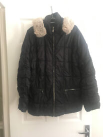 Black Coat - Large (approx 16-18)