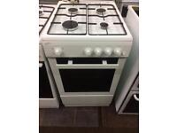 White statesman 50cm gas cooker grill & oven with guarantee bargain