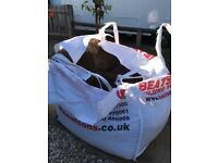 Free 2/3 tonne of sharp sand in bag