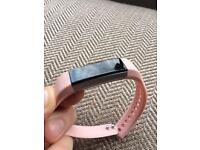 Fitbit Alta and pink strap as new.