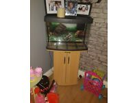 64 litre fish tank and unit. In good condition. Comes with water heater and filter.