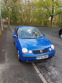 VW POLO 2004 1.4 PETROL BLUE
