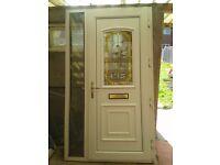 Double-glazing entrance/front door