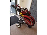 Ping G15 Golf Clubs + Driver + Electric Trolly FULL SET