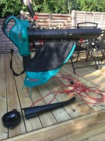 Wired Bosch leaf blower with attachments