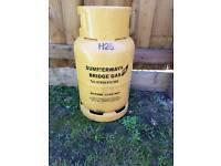 13kg empty gas bottle £5 suit barbecue