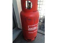 Gas bottle calor 19 kg propane