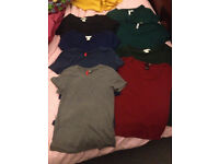 Bundle of 8 women's/girl's t-shirts