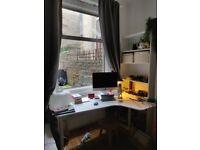 White corner desk, IKEA BEKANT