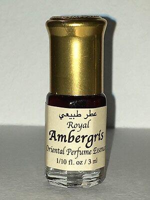Oriental perfume  AMBERGRIS oil Essences 85% aphrodisiac for HER  perfume oil