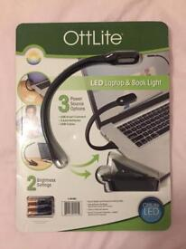 Job lot 10 x OttLite LED laptop book lights