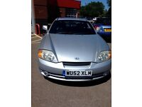 hyundai coupe, automatic, new mot, all singing and dancing, leather luxury