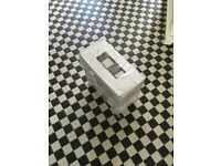 Chequer Black and White Tiles - new