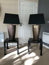 Matching Lamp & Table Set