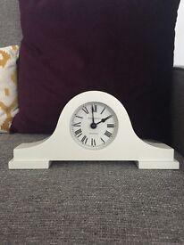 Jones and Co cream Mantel clock
