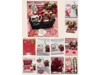 Valentines Gift Set Hamper for HER. Gift wrapped with Huge Red bow. PICK UP ONLY
