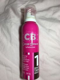 Cocoa brown fake tan mousse
