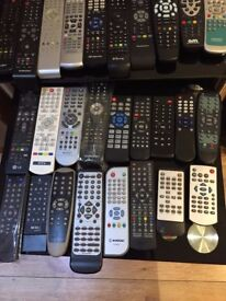 OVER 40 REMOTE CONTROLS