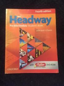 Headway pre-Intermedia student's book