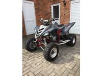 Yamaha raptor 700 YFM700R QUAD ROAD LEGAL ALL ORIGINAL GREY & CHERRY RED FRAME
