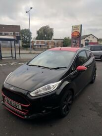 ***FORD FIESTA S BLACK EDITION GOOD CREDIT BAD CREDIT FINANCE AVAILABLE***