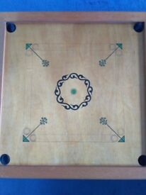 Karom game board with all counters and rules