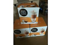 3 packets of Dolce Gusto latte pods bought 19.04.20 by mistake. One pod taken out of box